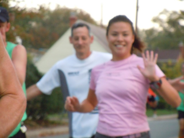 blurry asian- i am the least photogenic runner in the world