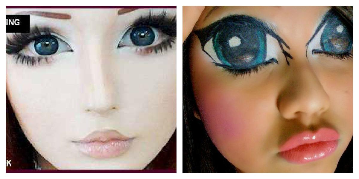 animemakeup Anime makeup, Fantasy fest, Makeup